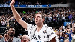 Dirk Nowitzki Scores 25 and Passes 30,000 Career Points! | 03.07.17