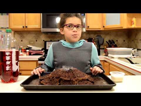 2 Ingredient Erupting Volcano Cake - World of Z