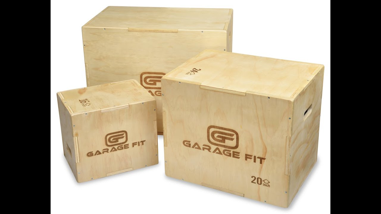 Garage fit 3 in 1 wood plyo box youtube