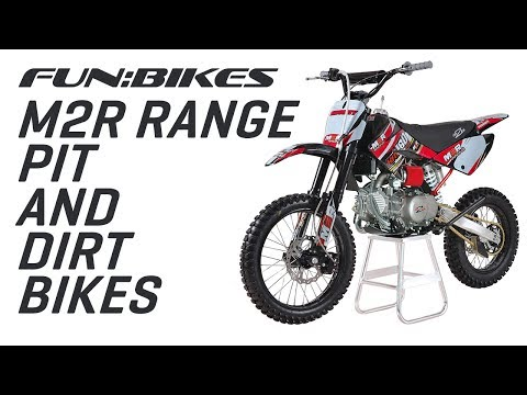 Product Overview: Funbikes M2R Range of Pit & Dirt Bikes