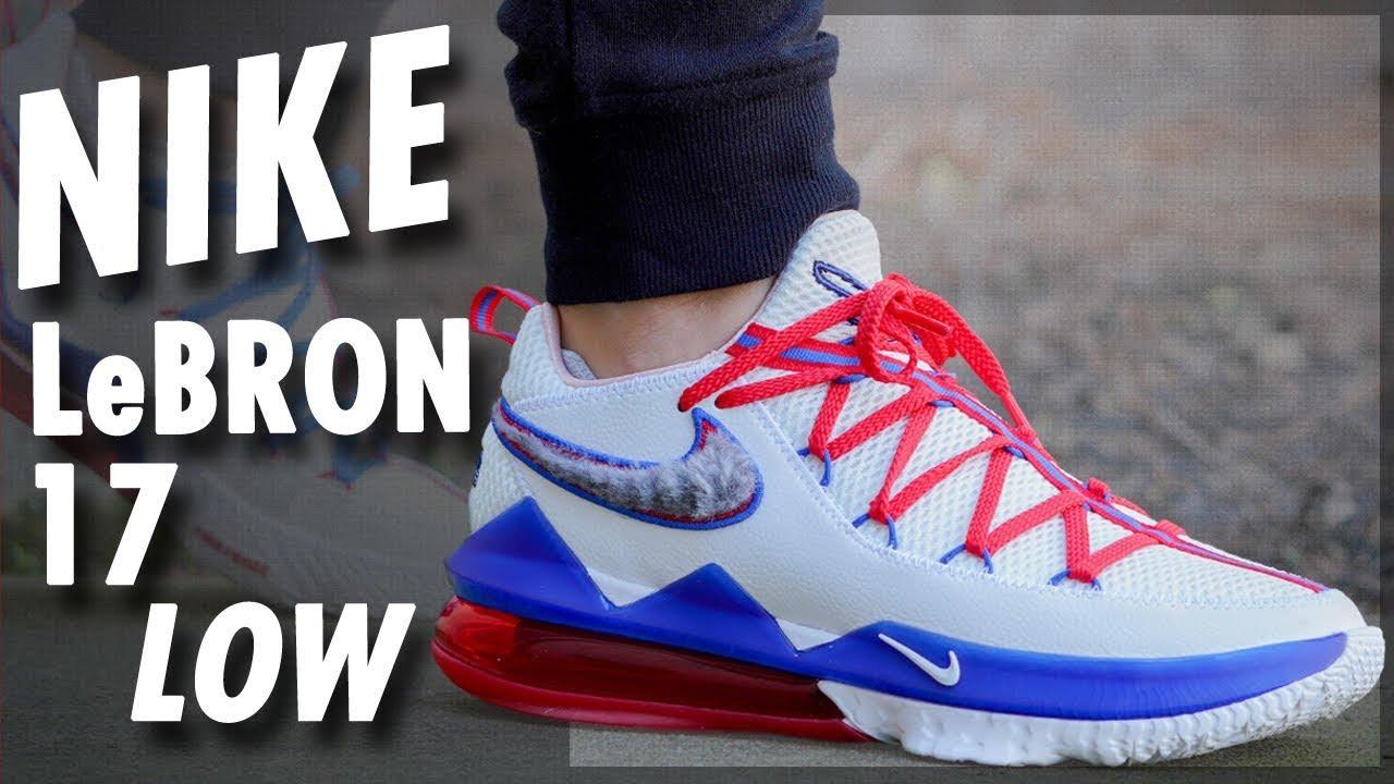 Nike LeBron 17 Low - YouTube