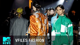 fashion is political at the vfiles fashion show   mtv news