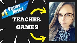 TEACHER joue FORTNITE!?! 'Road to 8K' GIVEAWAY ' 7.5K