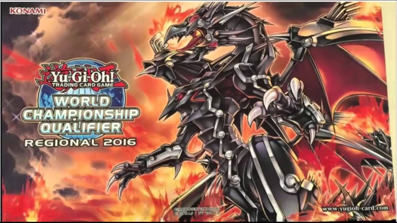 red eyes flare metal dragon new regional play mat youtube