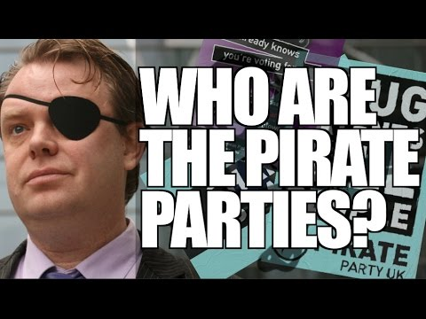 Who are the Pirate Parties?