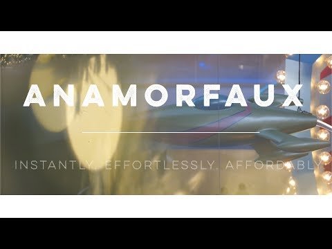 ANAMORFAUX - The anamorphic look, instantly and affordably.