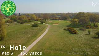 Orsett Golf Club 3rd Hole Flyover