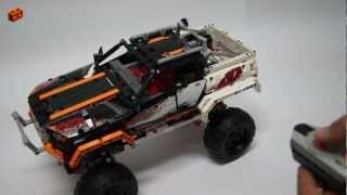 LEGO Technic 9398, 4x4 Crawler Review (1/2 - Intro)