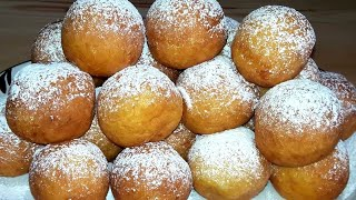 Домашние творожные пончики Очень вкусный и простой рецепт