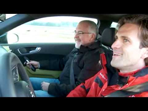 DTM driver test Audi A1.avi