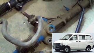 Toyota Noah (4WD) - Замена рулевой рейки