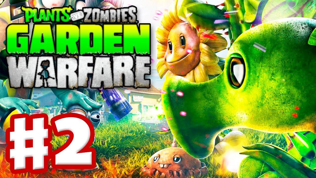 PLANTS VS ZOMBIES GARDEN WARFARE 2 - Dad & Son Play XBOX ...