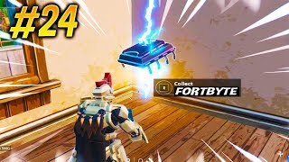 UNLOCK FORTBYTE #24 FONDÉE IN FATAL FIELDS WITH THIS VIDEO! Fortnite Fortnite