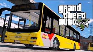 GTA V - Belgian Bus - Tec (New version)