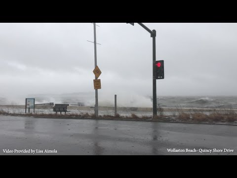 Raw Storm Footage in Quincy, MA- March 2, 2018