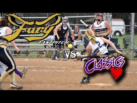 Fury Fastpitch Vegas 02 vs Ohio Classics 14u fastpitch softball game
