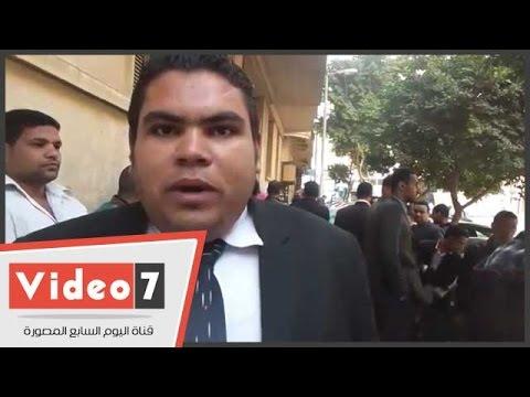 """بالفيديو.. حملة الماجستير المعينين يتظاهرون أمام """"الوزراء"""" للمطالبة بتسلم الوظائف"""