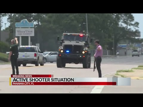 Active shooting situation in Panama City, Fla. ends with suspect dead