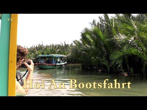 Hoi An, Vietnam, Bootsfahrt Doku mit Sehenswürdigkeiten (5/13)