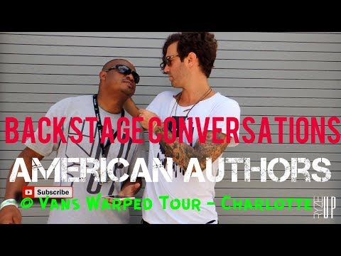 Zac Barnett American Authors Interview - Vans Warped Tour 2017 | Backstage Conversations
