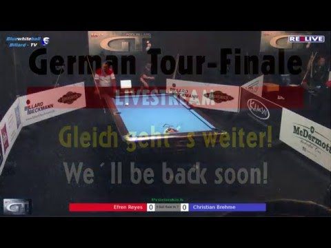 Efren Reyes vs Christian Brehme Money Game - German Tour Finale 2015/2016