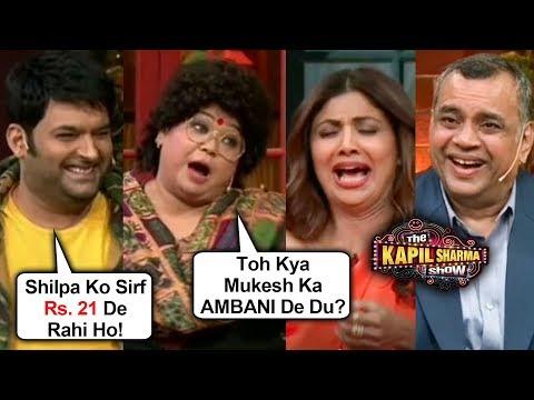 Bharti Singh Makes FUN Of Shilpa Shetty, Archana,Rajpal Yadav   The Kapil Sharma Show Hungama 2