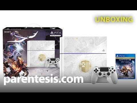 Unboxing PlayStation 4 Limited Edition Destiny The Taken King