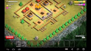 Megablaster - Town Hall Level 3 - 5 Goblins, 15 Archers - Simple Clash of Clans