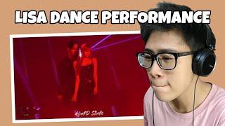 LISA BLACKPINK SOLO DANCE STAGE REACTION