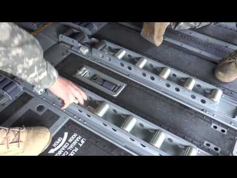 Boeing Cargo On/Off Loading System for Chinooks