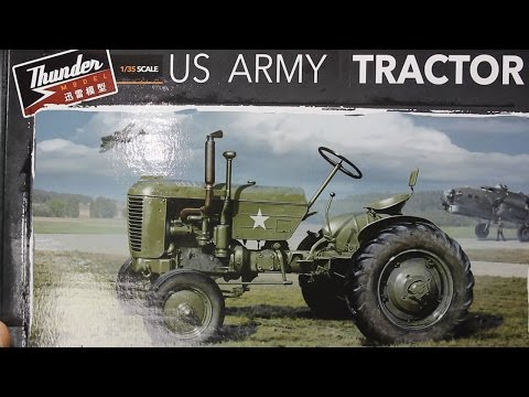 Thunder Models 1:35 US Army Tractor Build Review