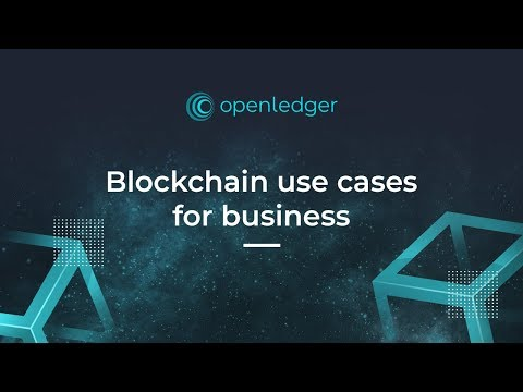 Blockchain Use Cases In Real Business Video By OpenLedger ApS