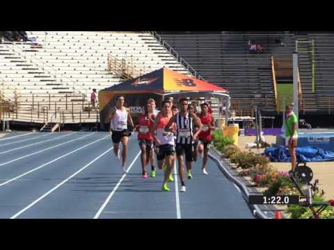 Rey Rivera tops Cameron Cooper in 2017 NBNO 800m final