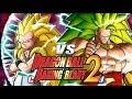 Dragon Ball Z Raging Blast 2 - SSJ3 Gotenks Vs. SSJ3 Broly (Growing My Channel)