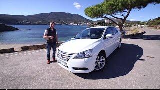 Тест-Драйв Nissan Sentra - Семейный Ниссан