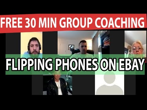 Free 30 min Group Coaching Call With Dave On Flipping Phones On Ebay