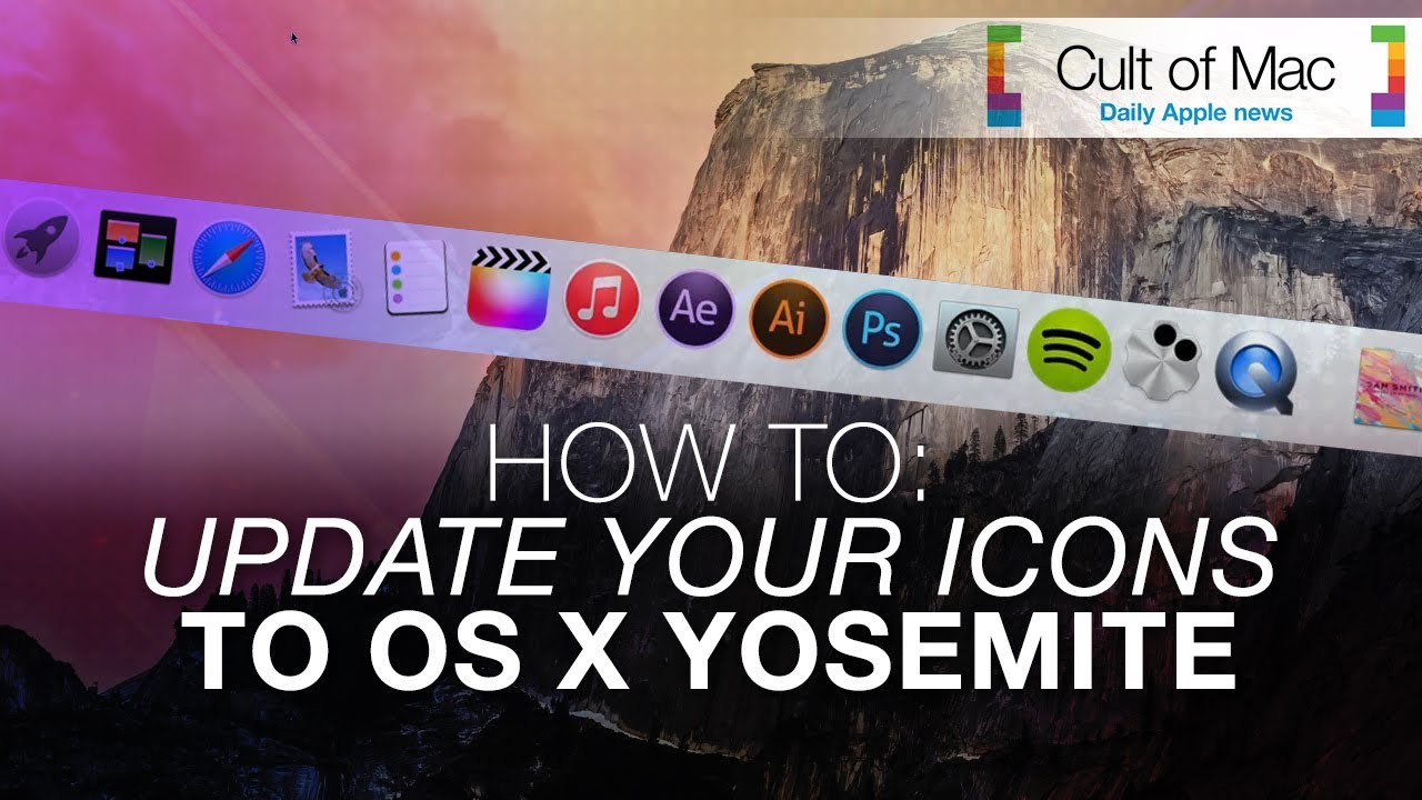 How-To: Update your icons to Yosemite