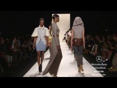 KATYA ZOL: MERCEDES-BENZ FASHION WEEK Fall 2014 COLLECTIONS