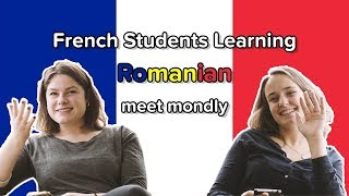 French Students Learning Romanian - Part 1: Meet mondly