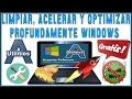 Como Limpiar, Acelerar y Optimizar Profundamente Windows 7/8/8.1/10 | Argente Utilities Gratis...!!!