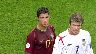 The Day Cristiano Ronaldo & David Beckham met in 2006 World Cup