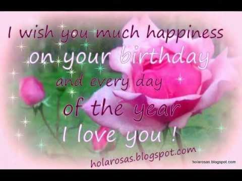 Happy Birthday  My Love  !