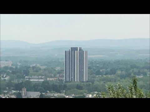 Craig Stevens - Martin Tower's demolition. The implosion went off as scheduled