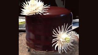 White Chocolate Mum Cake / Cake Decorating