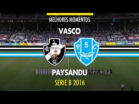 Melhores Momentos - Vasco 0 x 2 Paysandu - Série B - 18/06/2016