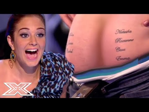 """""""I've Got 7 Girls Tattooed On My BUM""""...Frankie Cocozza's First Audition! 