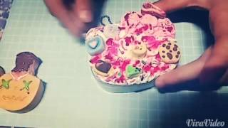 分享我的自製squishy和deco盒