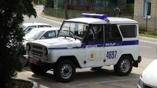 Дебошир пытался скрыться от милиционеров