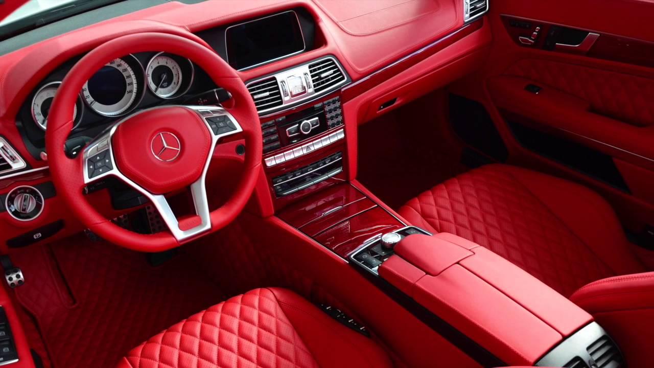 MEC Design CERBERUS Mercedes EClass Leather and Interior Design