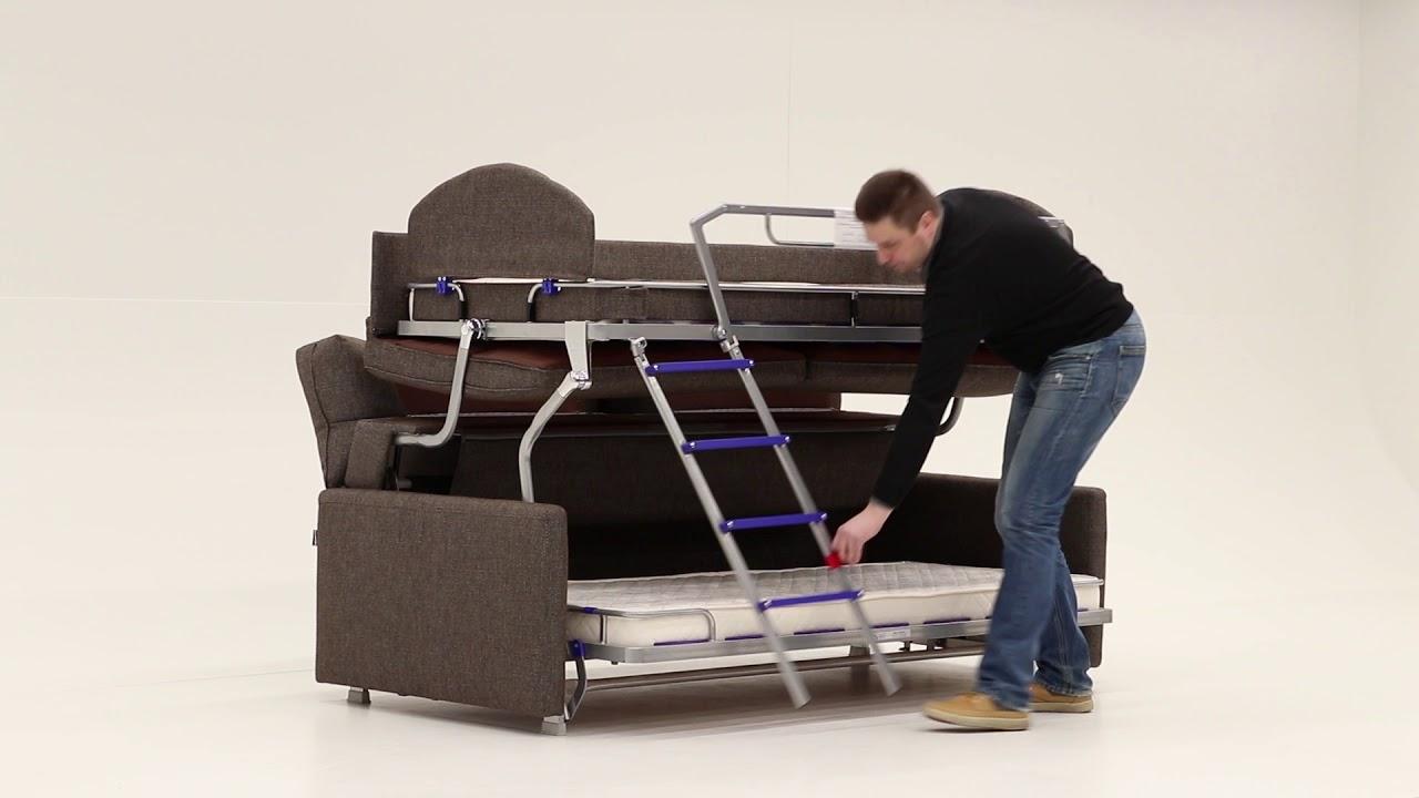 premium selection 22aab 969e1 Elevate Bunk Bed Sofa Sleeper
